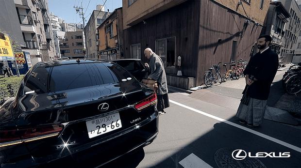 Фото №1 - Lexus стали официальными автомобилями программы «Япония.Обратная сторона кимоно» на Первом канале