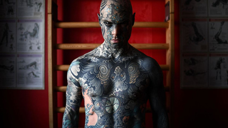 Фото №5 - Самые татуированные люди, которые смогли найти нормальную работу (фото)