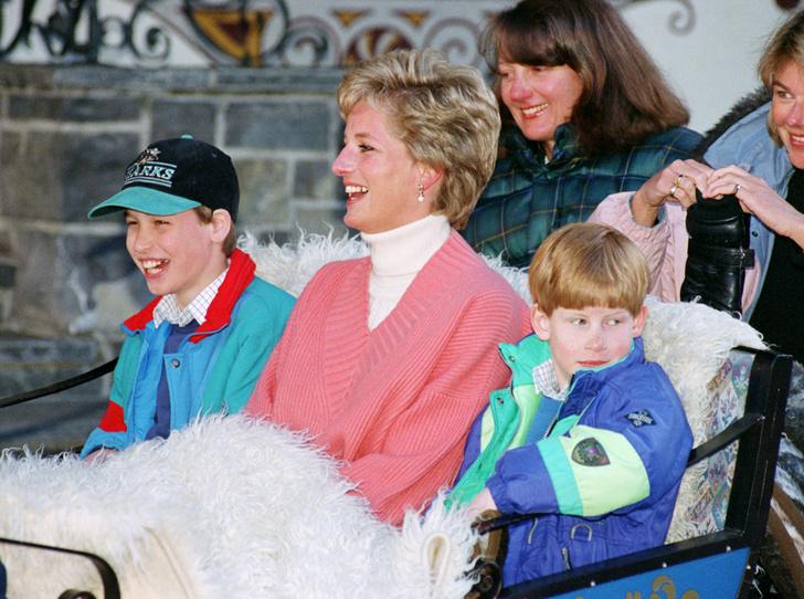 Фото №27 - История в фотографиях: какой мамой была принцесса Диана