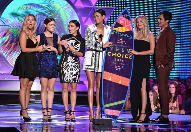 «Милые обманщицы» teen choice awards 2015