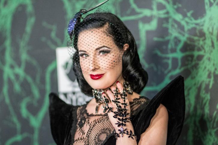 Фото №1 - Тайна раскрыта: стало известно, почему Дита фон Тиз носит вуаль