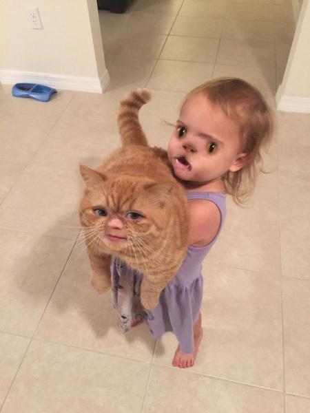 Фото №4 - Сделал селфи с ребенком и пожалел: 20 очень неудачных фото