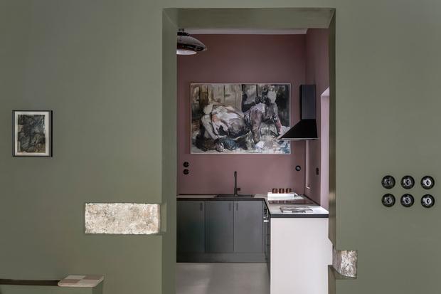 Фото №5 - Дизайнерский гостевой дом в Афинах