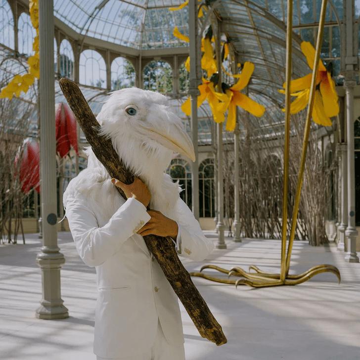 Фото №4 - Язык цветов: инсталляция в Хрустальном дворце в Мадриде