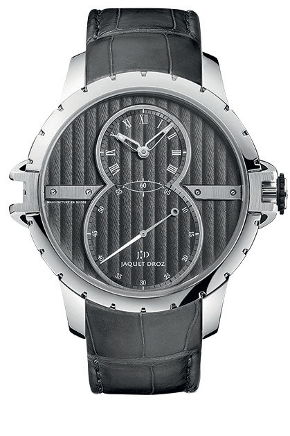 Часы Grande Seconde SWSteel, белое золото, сталь, Jaquet Droz.
