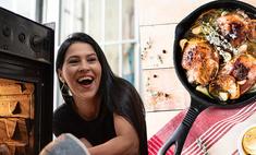Готовим куриную грудку в сметанном соусе с грибами и тархуном: новогодний видеорецепт