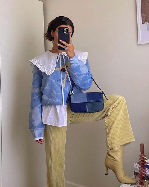 Фото №1 - Как собрать лук с бежевыми брюками: 5 стильных идей для этой весны🍦🤍