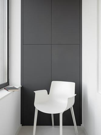 Фото №13 - Квартира 78 м² со стальной мозаикой на кухне