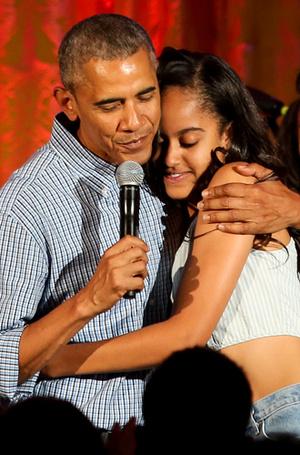 Фото №5 - Детки из золотой клетки: что стало с Малией и Сашей Обама