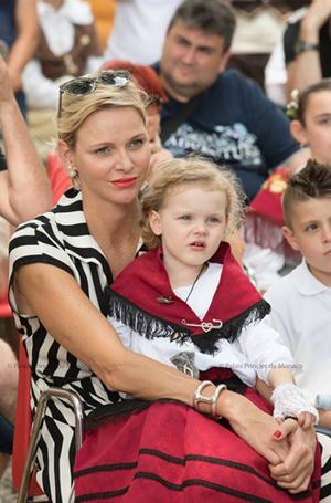 Фото №43 - Принц Жак и принцесса Габриэлла: четвертый год в фотографиях