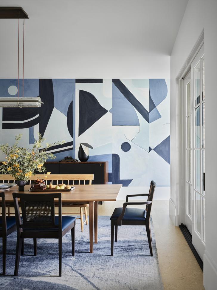 Фото №5 - Современный дом в синих тонах в Далласе