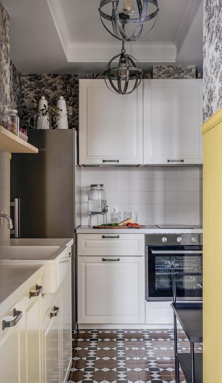 Фото №4 - Двухкомнатная квартира 37 м² с кухней в коридоре