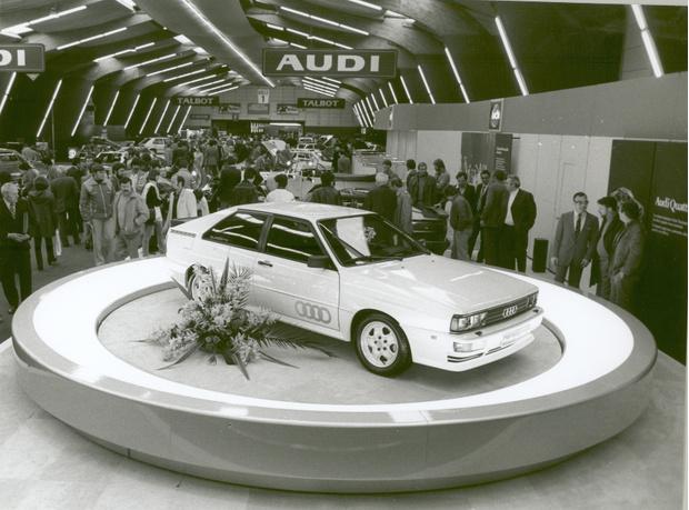 Фото №1 - Юбилей quattro: 40 лет под капотами Audi