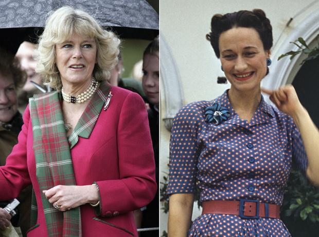Фото №1 - Что общего у герцогини Камиллы и Уоллис Симпсон (и при чем здесь Королева-мать)