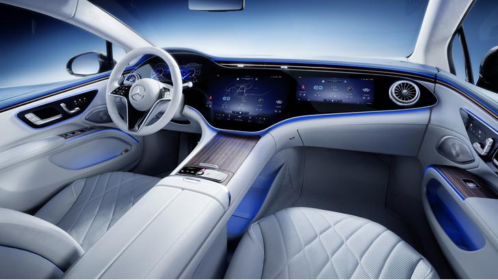 Фото №4 - Mercedes-Benz представил электрический S-класс, который вообще не похож на Mercedes-Benz