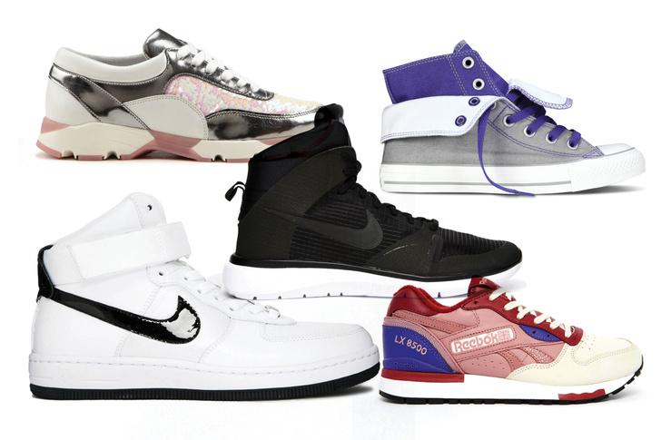 Кроссовки, Aldo; кеды, Converse; кроссовки, Nike, 9 990 руб.; кроссовки, Nike Air Force 1, 7 000 руб.; кроссовки, Reebok, 10 500 руб.