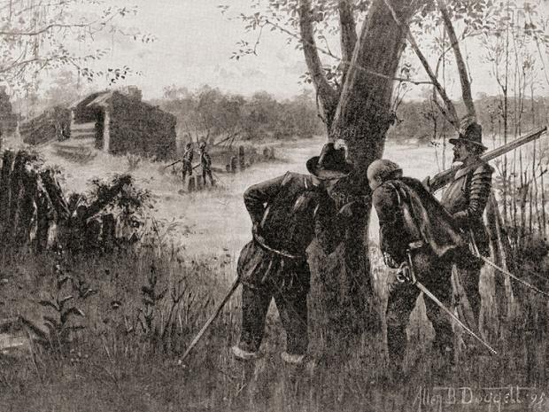 Фото №8 - Загадка Роанока: что случилось с колонией, бесследно изчезнувшей более 400 лет назад
