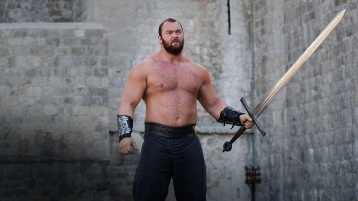 Фото №1 - Актер «Игры престолов» стал самым сильным в мире