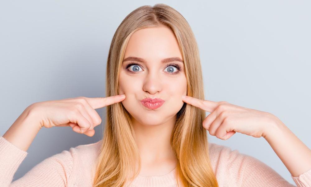 Пухлые щеки: как избавиться быстро