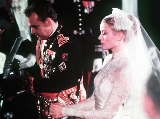 Фото №1 - 8 неожиданных фактов о свадьбе Грейс Келли и князя Ренье