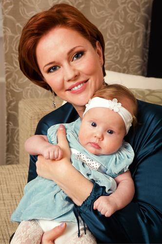 Фото №1 - Ольга Кокорекина: мама принцессы