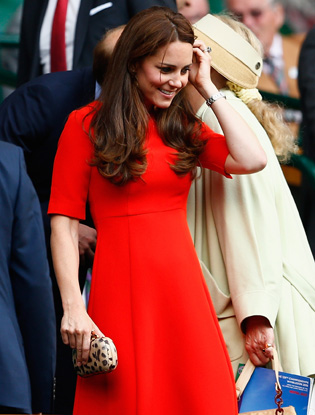 Фото №4 - Герцогиня Кэтрин и принц Уилльям на Уимблдоне
