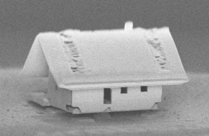 Фото №1 - Роботы создали мини-дом