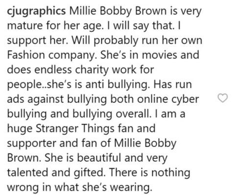 Фото №3 - Как Милли Бобби Браун ставит на место хейтеров и напоминает о важности любви