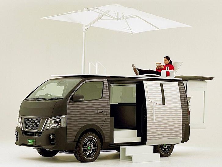 Фото №5 - Кабинет на колесах: концепт передвижного офиса Nissan