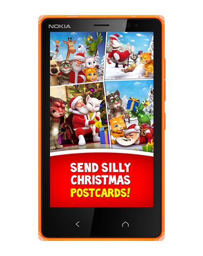 Talking Santa приложение