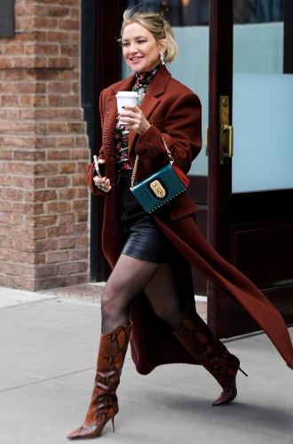 Кейт Хадсон в Нью-Йорке