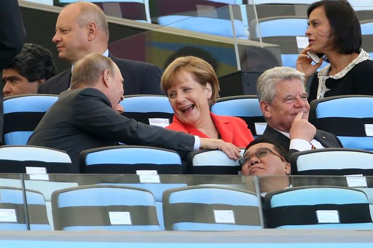 Фото №1 - Ангела Меркель отмечает юбилей