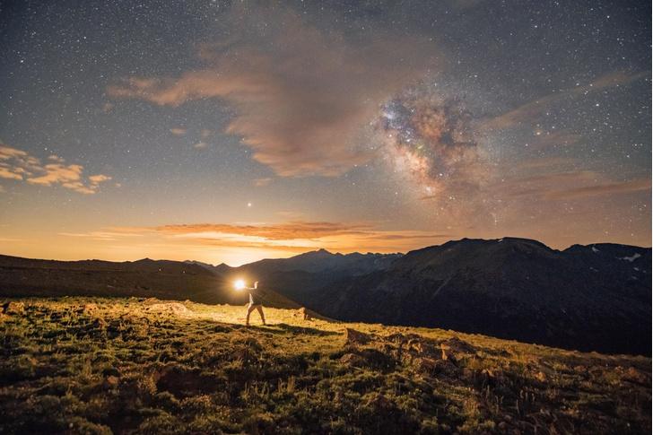 Фото №1 - Млечный Путь над Роки-Маунтин