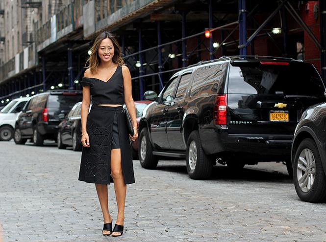 Фото №6 - Образы гостей недели моды в Нью-Йорке в прошедшие выходные