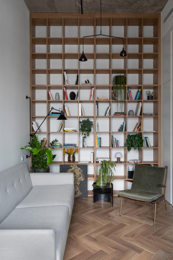 Фото №9 - Минималистичная квартира в лофт-апартаментах в Москве