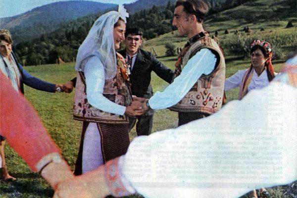 Фото №1 - Свадьба в Черной Тисе