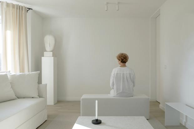 Фото №1 - Белая магия: квартира 90 м² в Минске