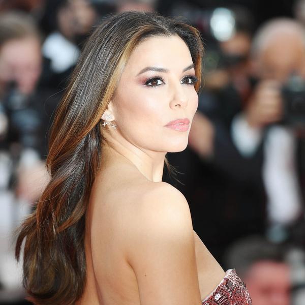 Фото №1 - Звездный макияж: повторяем образ Евы Лонгории на Каннском кинофестивале
