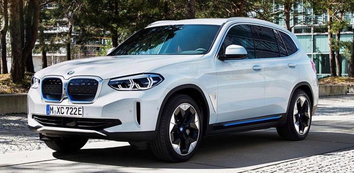 Фото №1 - Серийный электрокроссовер BMW рассекретили раньше срока