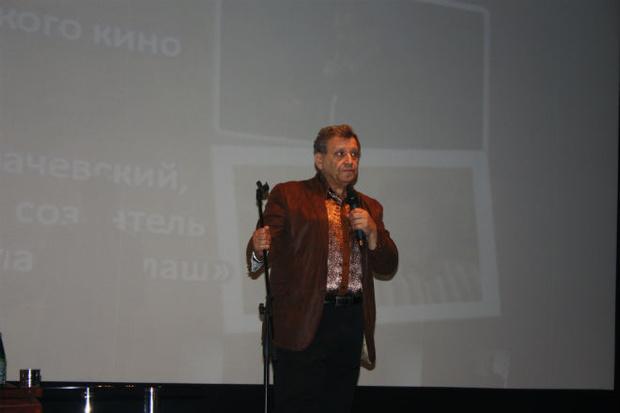 Фото №1 - Борис Грачевский представил в Астрахани свой фильм о любви