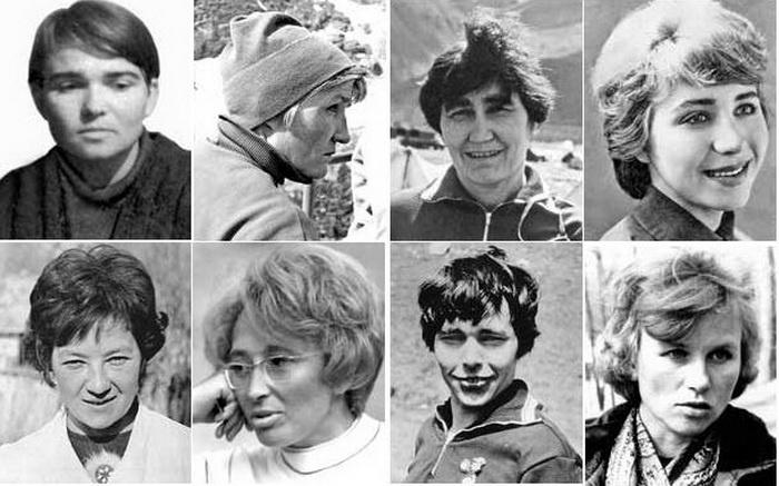 Фото №1 - «Через 15 минут мы все умрем»: трагическая гибель 8 советских альпинисток, или притча о женской гордости?