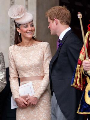 Фото №5 - Особая связь: самые трогательные и забавные фото Гарри и Кейт
