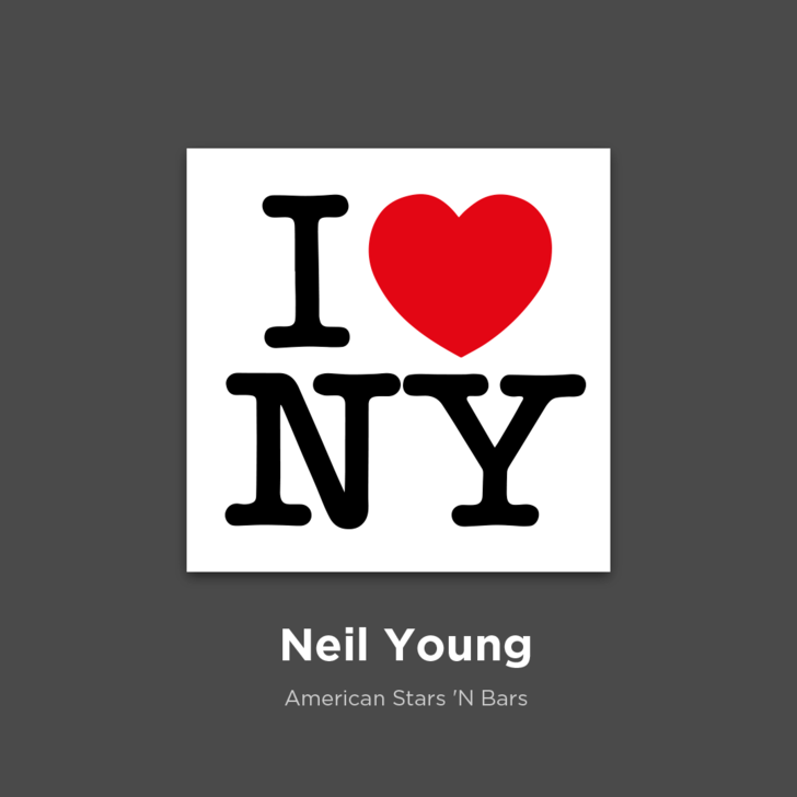 Фото №26 - 27 альбомов поп- и рок-звезд в виде известных логотипов