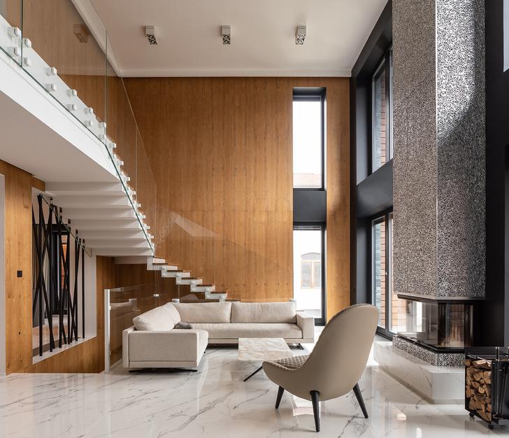 Фото №3 - Трехэтажный особняк по проекту Sergey Makhno Architects в Киеве