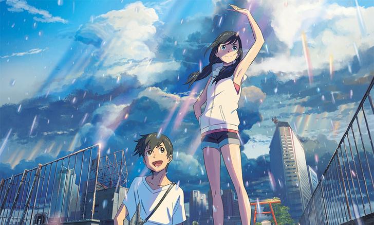 Фото №1 - MAXIM рецензирует «Дитя погоды» Макото Синкая— наверное, самое грандиозное аниме десятилетия