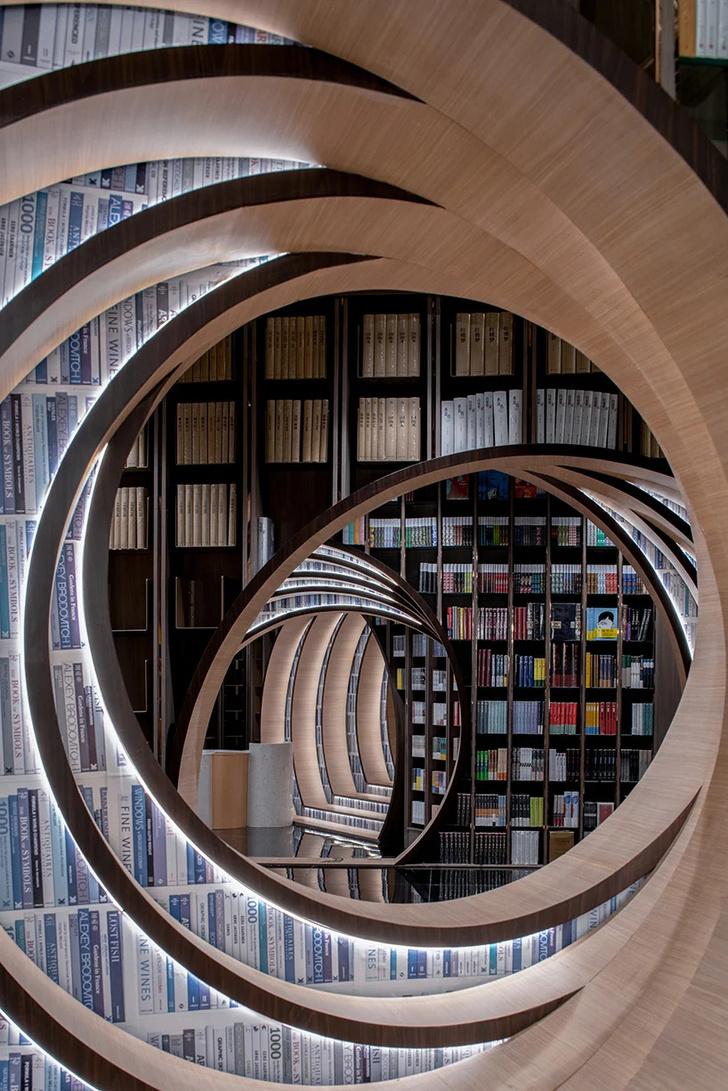 Фото №4 - Футуристичный книжный в Пекине по проекту X+Living