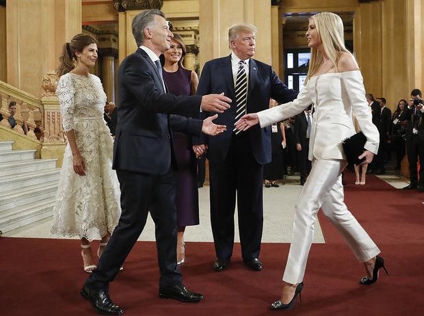 Фото №9 - G20 в Аргентине: самые яркие модные выходы Первых леди