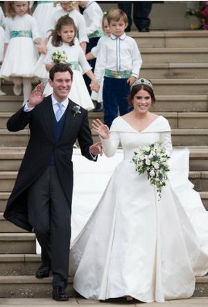 Фото №3 - Невосполнимая потеря: кого Саре Фергюсон не хватало на свадьбе дочери