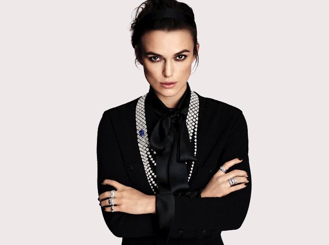 Фото №1 - Кира Найтли в рекламе новой коллекции Chanel Coco Crush