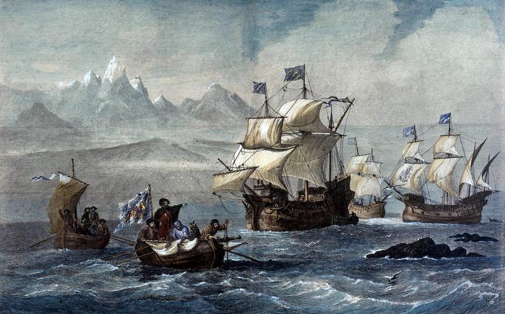 Фото №1 - 500 лет назад... Совершили первое кругосветное путешествие в истории человечества